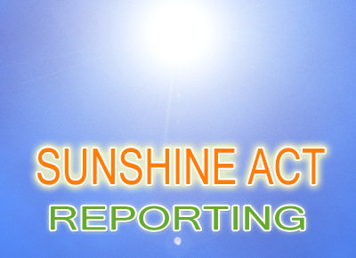 Sunshine Act Reporting Danielle DeLucy Compliance Trainings
