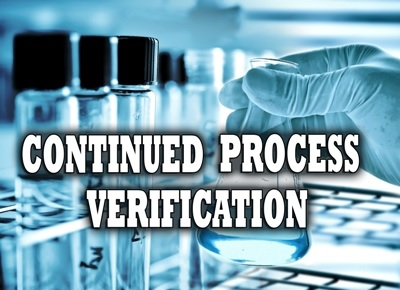 Continued Process Verification Ron Snee Compliance Trainings